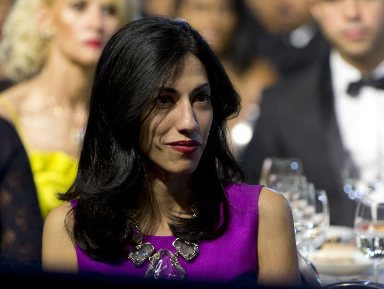 Huma Abedin at event